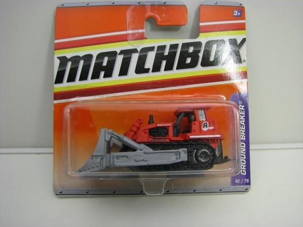 Ground Breaker Buldozer Matchbox