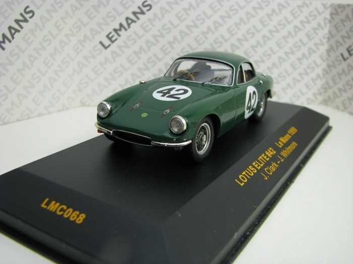 Lotus Elite No.42 J. Clark Le Mans 1959 1:43 Ixo
