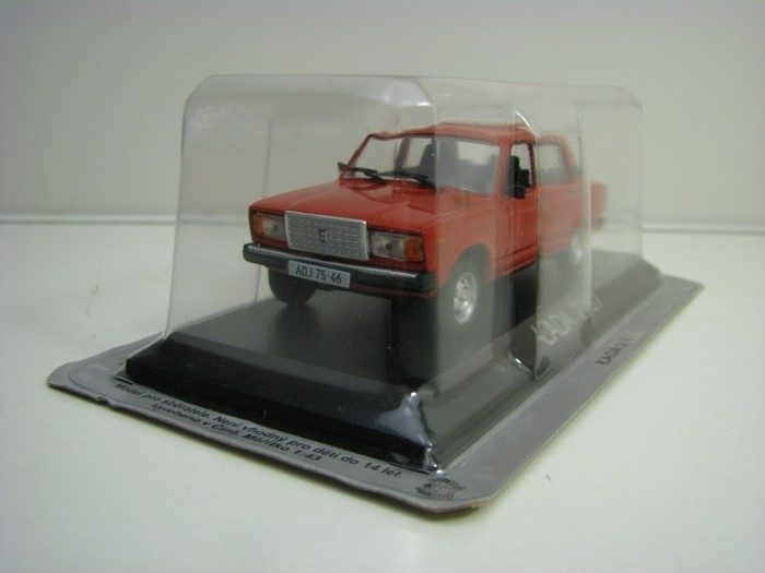 Lada Vaz 2107 Red 1:43 Atlas Ist