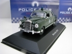 Mercedes 180D 1953 Polizei 1:43 Police Cars Atlas Edition