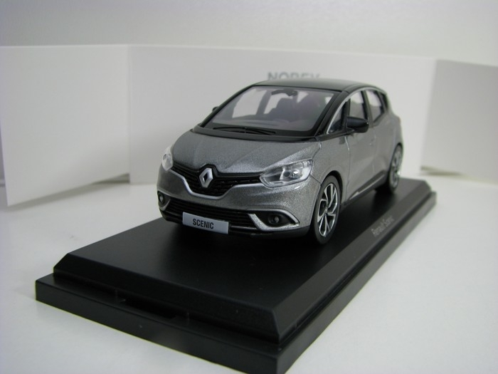 Renault Scenic 2016 Cassiopee Grey Black 1:43 Norev