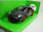 Porsche 911 GT3 RS 997 Mark 2 2010 Grey 1:24 Lucky Die Cast