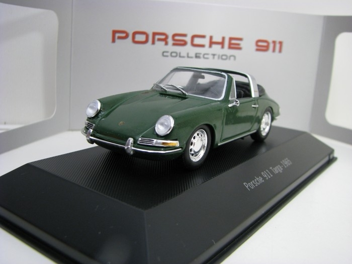 Porsche 911 Targa 1965 Green 1:43 Atlas Edition