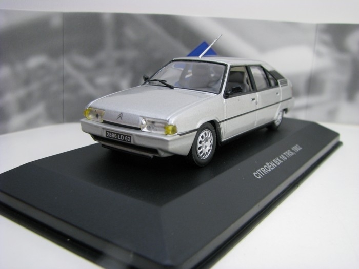 Citroen BX 16 TRS 1982 Silver 1:43 Solido