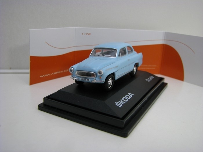 Škoda Octavia 1963 Light Blue MA 1:72 Abrex