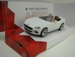 Fiat 124 Spider White 1:43 Mondo Motors Fast Road