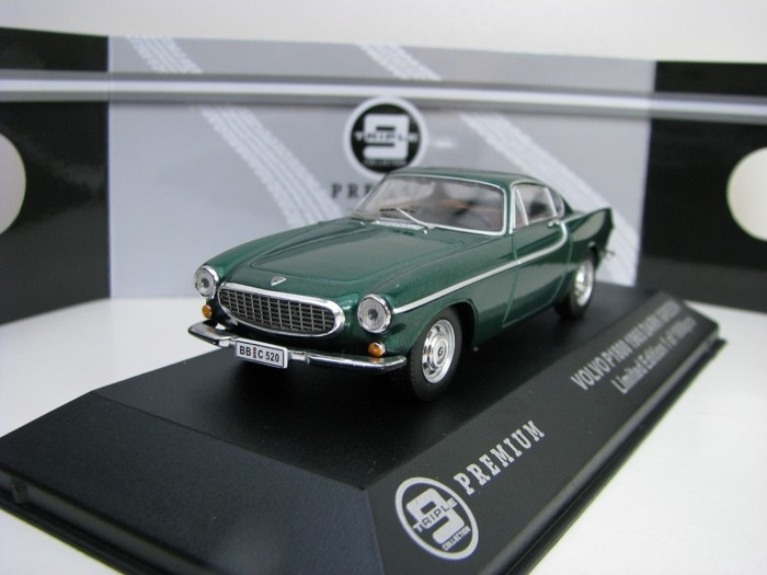 Volvo P1800 1965 Dark Green 1:43 Triple 9 Collection T9P-10009