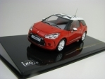 Citroen DS3 Sport Chic 2011 Red 1:43 Ixo MOC122