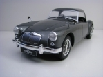 MGA MKI A1500 Closed 1957 Grey 1:18 Triple 9 Collection