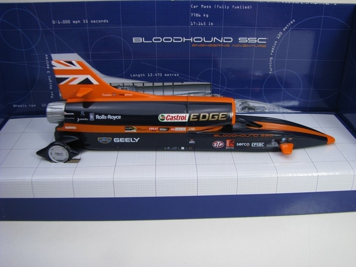 Bloodhound SSC UK Display version Corgi TY81002