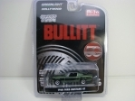 Ford Mustang GT 1968 Bullitt Chrome Edition 1:64 Greenlight Hollywood
