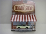 Ford Mustang II 1978 Cobra + kola 1:64 Hobby Shop série 5 Greenlight