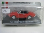 Alfa Romeo Spider 1600 red 1966 1:43 Atlas Edition