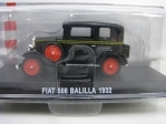 Fiat 508 Balilla 1932 Black 1:43 Atlas Edition