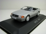 Mercedes-Benz 500 SL Cabrio 1989 Silver 1:43 Atlas Edition