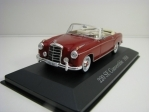 Mercedes-Benz 220 SE Convertible 1958 Red 1:43 Atlas Edition