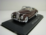 Mercedes-Benz 300 S Roadster 1952 Purple 1:43 Atlas Edition