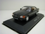 Mercedes-Benz 500 SEC 1981 Black 1:43 Atlas Edition