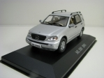 Mercedes-Benz ML 320 2001 Silver 1:43 Atlas Edition