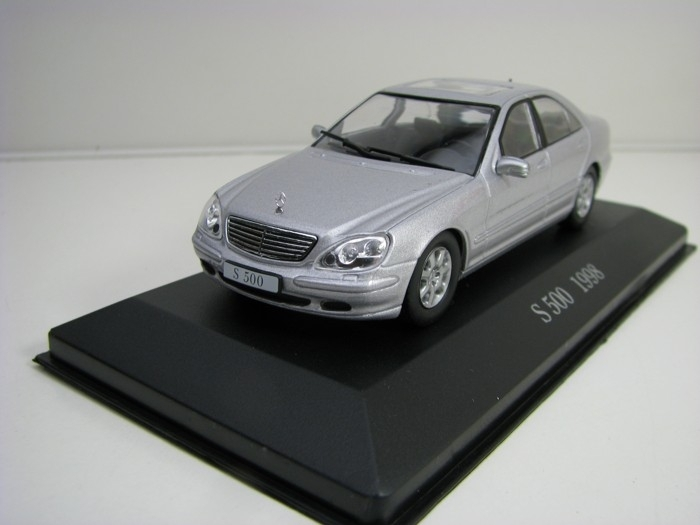 Mercedes-Benz S 500 1998 Silver 1:43 Atlas Edition