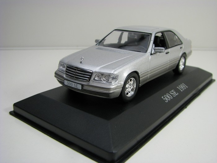 Mercedes-Benz 500 SE 1991 Silver 1:43 Atlas Edition