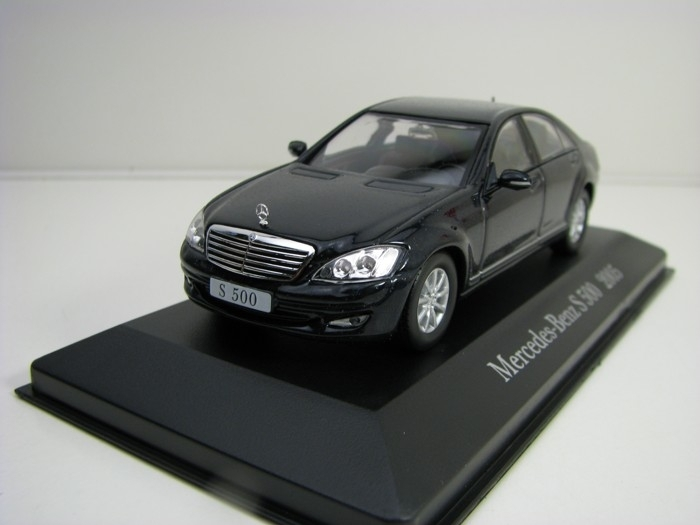 Mercedes-Benz S 500 2005 Black 1:43 Atlas Edition