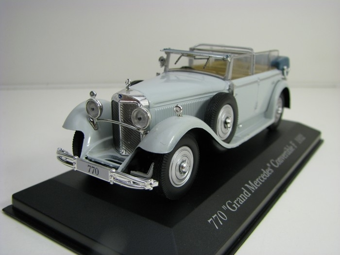 Mercedes-Benz 770 Grand Convertible F 1932 Grey 1:43 Atlas Edition