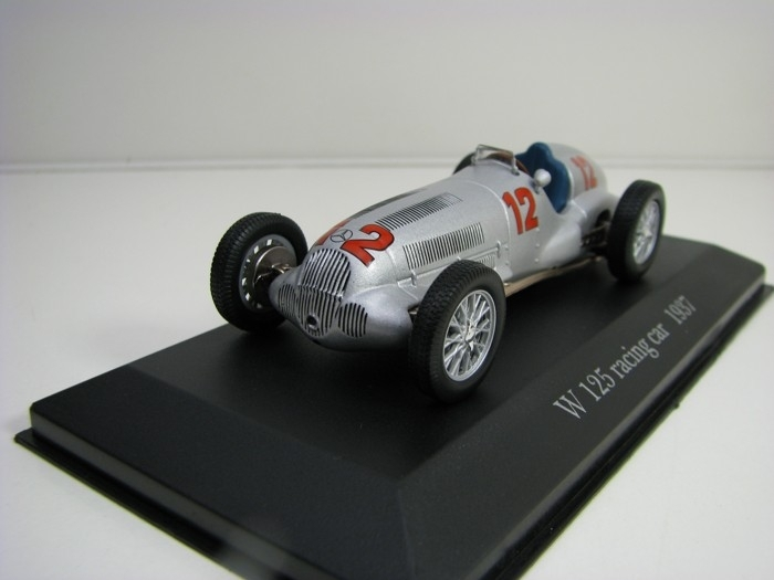 Mercedes-Benz W 125 R racing car No.12 1937 Atlas Edition