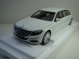 Mercedes-Maybach S 600 Pullman White 1:18 Autoart