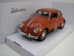 Volkswagen Beetle 1967 Brown 1:24 Lucky Die Cast