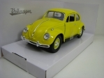 Volkswagen Beetle 1967 Yellow 1:24 Lucky Die Cast