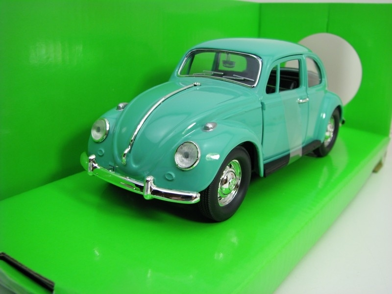 Volkswagen Beetle 1967 Green 1:24 Lucky Die Cast