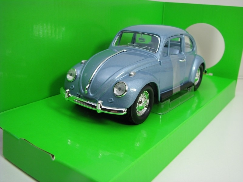 Volkswagen Beetle 1967 Bluegrey Metallic 1:24 Lucky Die Cast