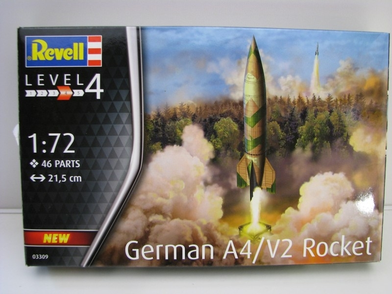 German A4/V2 Rocket stavebnice 1:72 Revell 03309