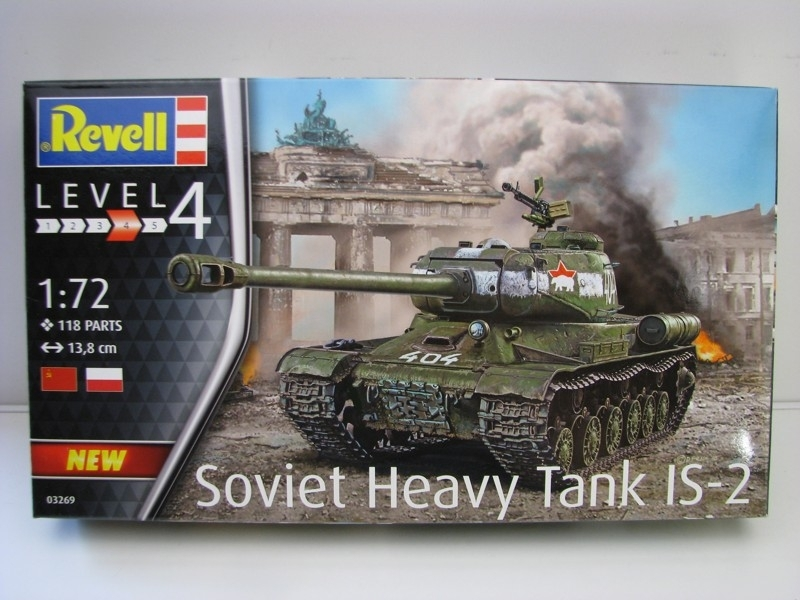Soviet Heavy Tank IS-2 1:72 Revell 03269