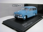 Škoda 1201 kombi 1954 Blue 1:43 White Box 283