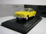 Škoda 110R 1970 Yellow 1:43 White Box 278