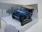 Jeep Willys 1/4 Ton Aircraft Dispersal Guidance 1:43 Cararama