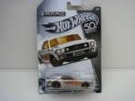 Ford Mustang Coupe 1967 Zamac Cars 1/8 Hot Wheels
