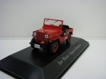 Jeep Willys Corpo de Bombeiros 1:43 Atlas Edition