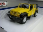Jeep Wrangler Unlimited 2015 Yellow 1:24 Maisto