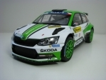 Škoda Fabia R5 No.2 Kopecký winner Barum Rally 2017 1:18 Fox Toys