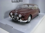 Jaguar MKII 1960 Purple 1:24 White Box