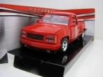 GMC Sierra GT Pick Up 1992 Red 1:24 Motor Max