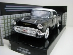 Chevrolet Bel Air 1957 Black 1:24 Motor Max