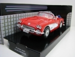 Chevrolet Corvette Cabrio 1959 Red 1:24 Motor Max