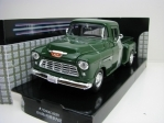 Chevrolet 5100 Stepside  Pick Up 1955 Green 1:24 Motor Max