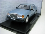 Mercedes-Benz 300E W124 1984 Metallic Blue 1:18 MCG Modelcar Group