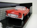 Ford Thunderbird 1956 Cabrio Open Red 1:24 Motor Max