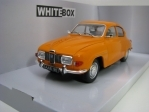 SAAB 96 V4 1970 Orange 1:24 White Box